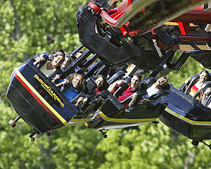 Class trip to Busch Gardens Williamsburg